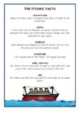 Titanic Fact Cards