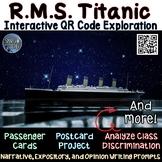 Titanic - QR Code Interactive Exploration