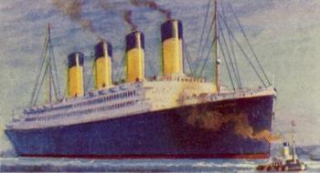 Titanic - 50 image public domain graphics collection
