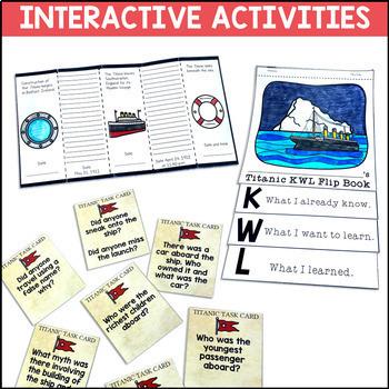 Titanic Digital and Printable Distance Learning Mega Unit
