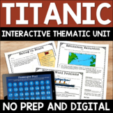 Titanic Digital and Printable Distance Learning Mega Unit