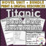 Titanic Unsinkable Novel Unit