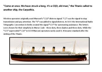 Titanic CQD puzzle Fallen Phrase Puzzle