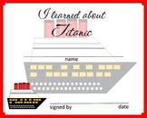 Titanic Certificate