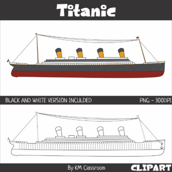 Titanic Ship Clip Art