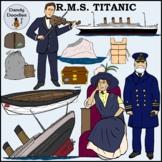 Titanic Clip Art by Dandy Doodles