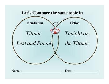 Titanic Comparison Pack: Fiction to Non-Fiction