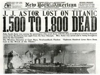 Titanic Distress Signal Source Analysis Activity