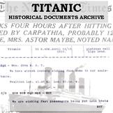 Titanic Historical Documents Archive