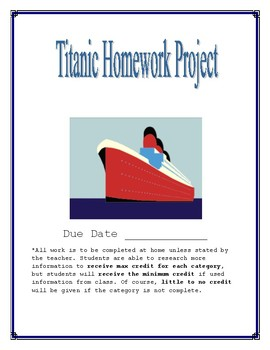 Titanic Homework Project
