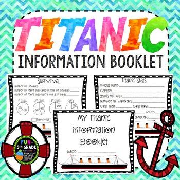 Titanic Information Booklet