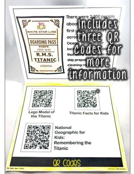 A Titanic Informational Flipbook for Guided Reading and Social Studies