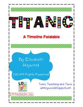 Titanic Interactive Timeline Freebie