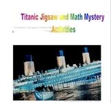 Titanic Jigsaw and Math Mystery Activities