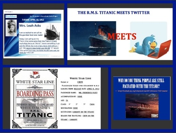 Titanic Meets Twitter Research Project Aligned w/CC - google docs available