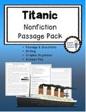 Titanic Nonfiction Passage