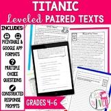 Paired Texts [Print & Digital]: Titanic Grades 4-6