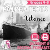 Paired Texts [Print & Digital]: Titanic Grades 4-6 (Distan