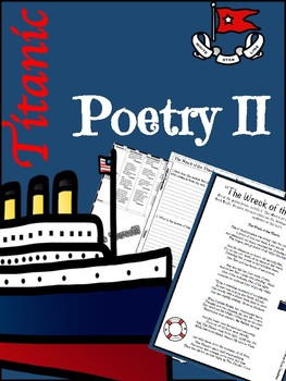 Titanic Poetry Lesson II