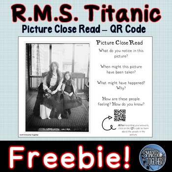 Titanic - QR Code Exploration