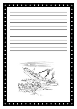 Titanic Report Writing Template