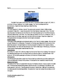 Titanic - Review Article - factsQuestions - Vocabulary - True/False Word Search