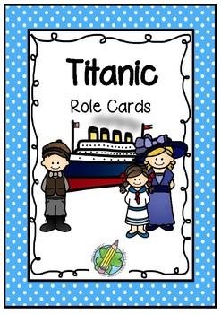 Titanic Role Cards