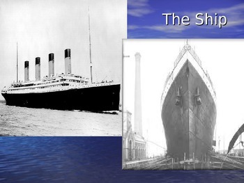 Titanic Supplemental Power Point
