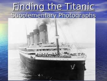 Titanic Supplemental Power Point