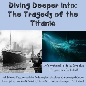 Titanic Text Structure Unit FREEBIE
