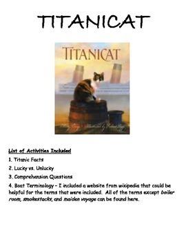 Titanic - Titanicat by Marty Crisp