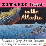 Titanic: Tragedy in the Atlantic History Social Studies ELA Center Station