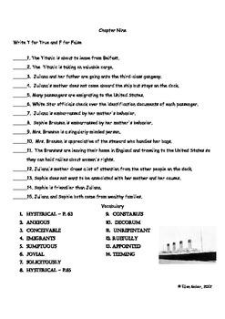 Titanic - Bundle:  Literature Guides