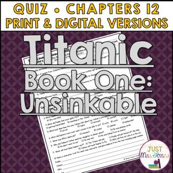 Titanic Unsinkable Quiz