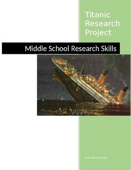 Titanic Webquest and Research