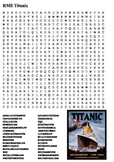 Titanic Word Search