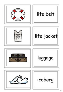 Titanic Worksheets and Activities