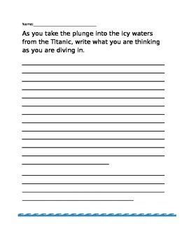 Titanic Writing