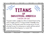 Titans of Industrial America - Matching Card Game
