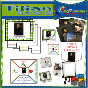 Titian Interactive Foldable Booklets