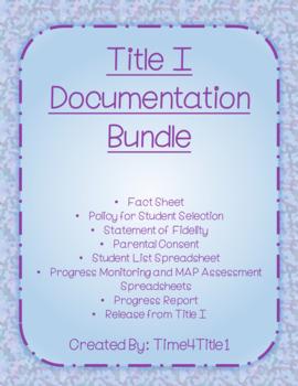 Title 1 Forms/Documentation Bundle
