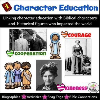 Bible Character Education Worksheets & Teaching Resources | TpT