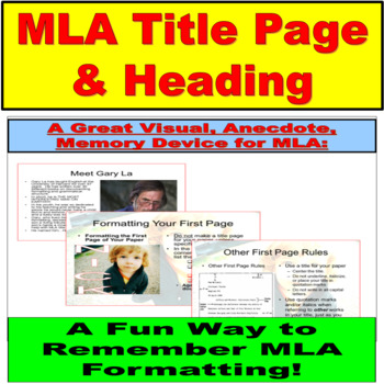 Title Heading, MLA Research PowerPoint