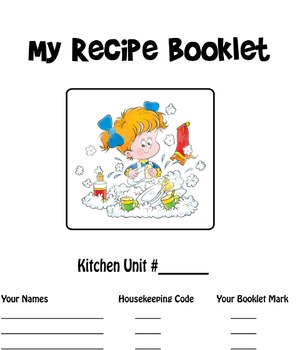 Title Page - Recipe Booklet