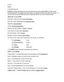 Title Punctuation Worksheet and Quiz