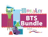 Back to School - BUNDLE - Monster Themed