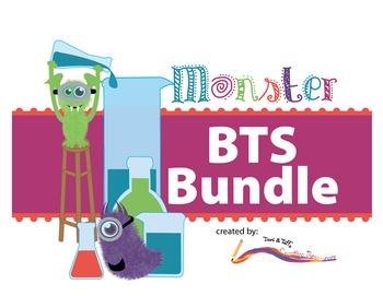 Back to School - BUNDLE - Monster Themed