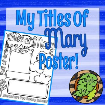 May is For Mary Poster