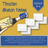 Titration Sketch Notes