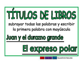 Titulos de libros verde